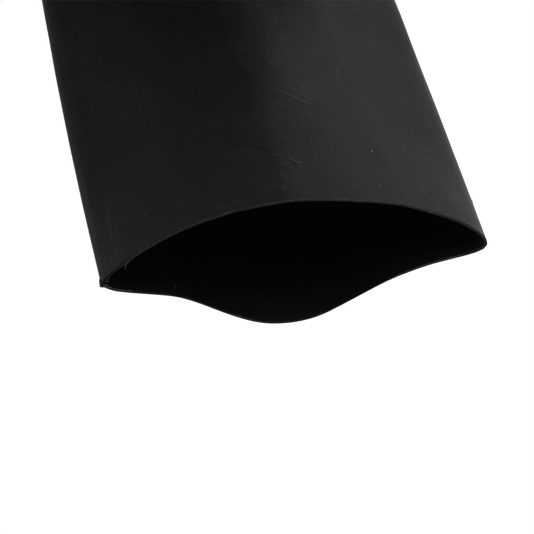 sourcing map Tubo termoretr/áctil negro de conexi/ón arrollada de 1m de longitud 40mm di/ámetro interior aislado de poliolefina