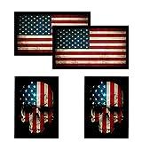Best Hard Hat Stickers - American Flag & Skull Flag HardHat & Helmet Review