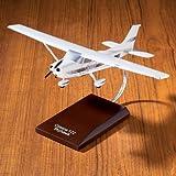 SKYLIFE (Cessna) CESSNA 172 Skyhawk mahogany model airplane die-cast