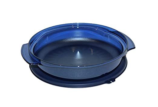 Tupperware - Olla para microondas (1 Q), color azul: Amazon ...