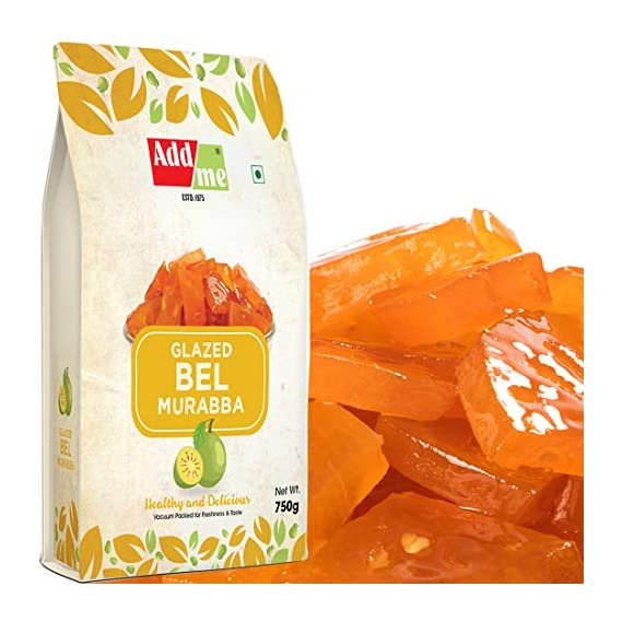 Add me Homemade Bel Murabba 1KG bel Fruit ka murrabba Candy Preserve Organic Best Quality Without Sugar Syrup