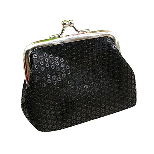 ❤️ Sunbona On Sale Card Holder Wallet s Small Sequin Clutch Handbag Bag keychain Business Coin Purse Pouches for Women