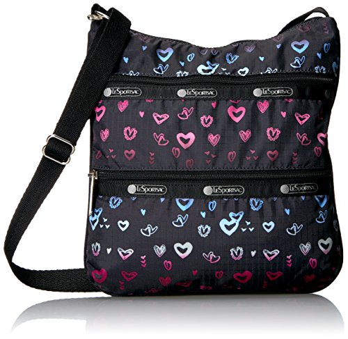 LeSportsac Classic Kylie Cross Body Bag, Heartbeat