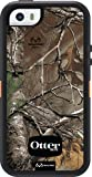 OtterBox DEFENDER SERIES Case for iPhone 5/5s/SE - Retail Packaging - REALTREE XTRA (BLAZE ORANGE/BLACK W/REALTREE XTRA DESIGN)