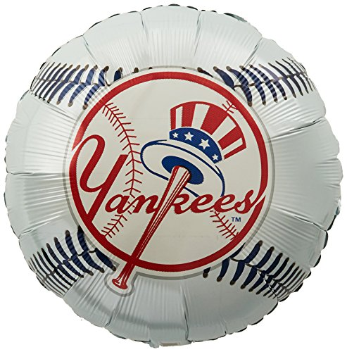 Anagram International Hx New York Yankees Package Party Balloons, Multicolor