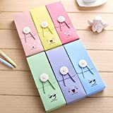Youyun 2pcs/Lot Cute Smile Face Button Pencil Case School Offices Supply Student Gifts Stationary