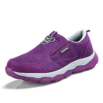 sports shoes 2f70d 2473f Hasag Primavera y el Otoño Zapatos Antideslizantes para Mamá Zapatos con  Fondo Suave Zapatos Ligeros para