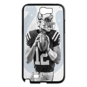 Allan Diy For Samsung Galaxy Note 2 case cover Andre-case NFL cell phone case covers Indianapolis Colts Andrew Luck NJaUH1mGEc1 protective case cover Pattern-15