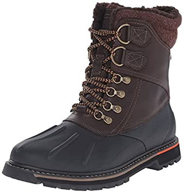 Amazon.com   Rockport Men's Trailbreaker WP Duck Snow Boot