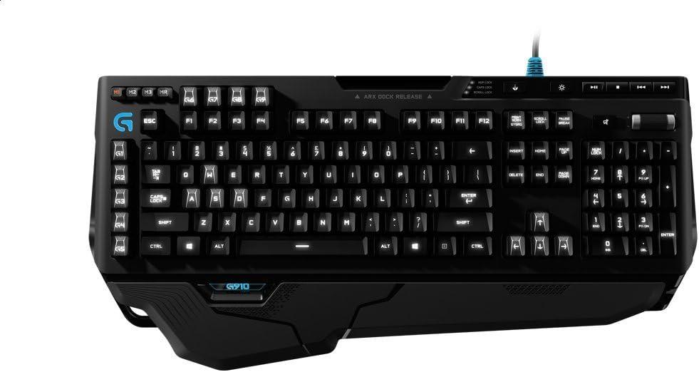 Logitech - Teclado Mecánico RGB para Gaming G910 Orion Spark RGB, QWERTY (Windows 8.1)