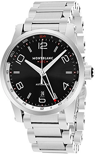 Montblanc-Mens-Timewalker-Swiss-Automatic-Stainless-Steel-Dress-Watch-ColorSilver-Toned-Model-109135