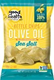 Good Health Kettle Style Olive Oil Potato Chips, Sea Salt, 5-Ounce Bags (Pack of 12)