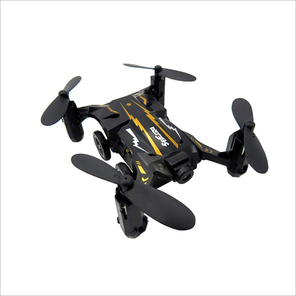Black GYFY Land and air dual mode mini WIFI map aerial photography left and right hand remote control car,Black