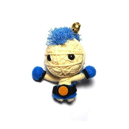 Amazon.com: Champion azul Boxeo Muay Thai Cadena Voodoo ...