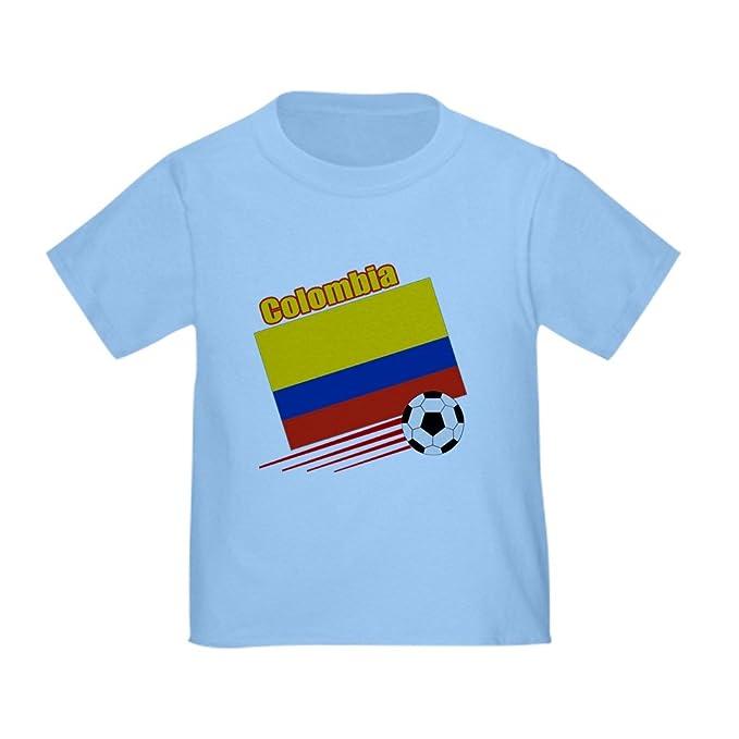 Amazon.com: CafePress – Colombia equipo de fútbol playera ...