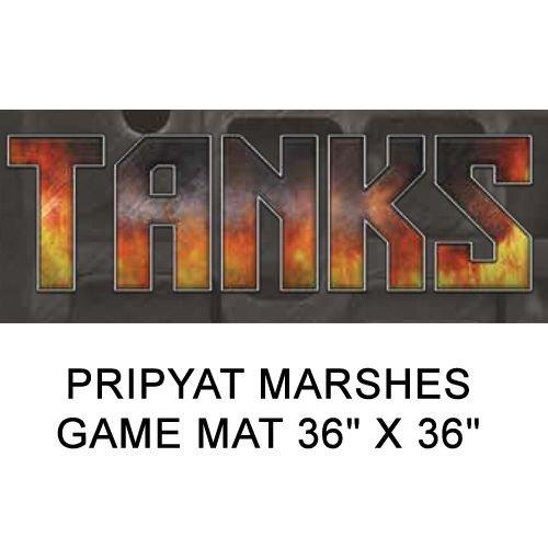 Pripyat Marsh Game Mat 36` x 36` Gale Force 9 Tanks