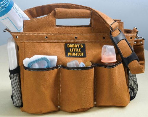 "Lillian Rose Diaper Bag, Building The Foundation Daddy, 17.5"" x 6"" x 12.5"""