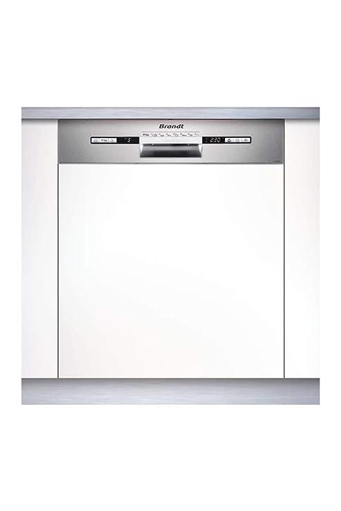 Brandt VH1772X lavavajilla Semi-incorporado 12 cubiertos A++ ...