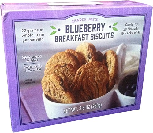 Trader Joes Blueberry Breakfast Biscuits