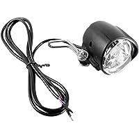 SunniMix Fietsverlichting met claxon, E-bike LED-lamp Fietsbellen Fietshoorn Universele spanning 2-in-1 koplamp…