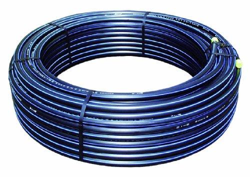 50 m Ro. PE-HD Rohr silber (sb.) 25x2,3 (PN12,5)