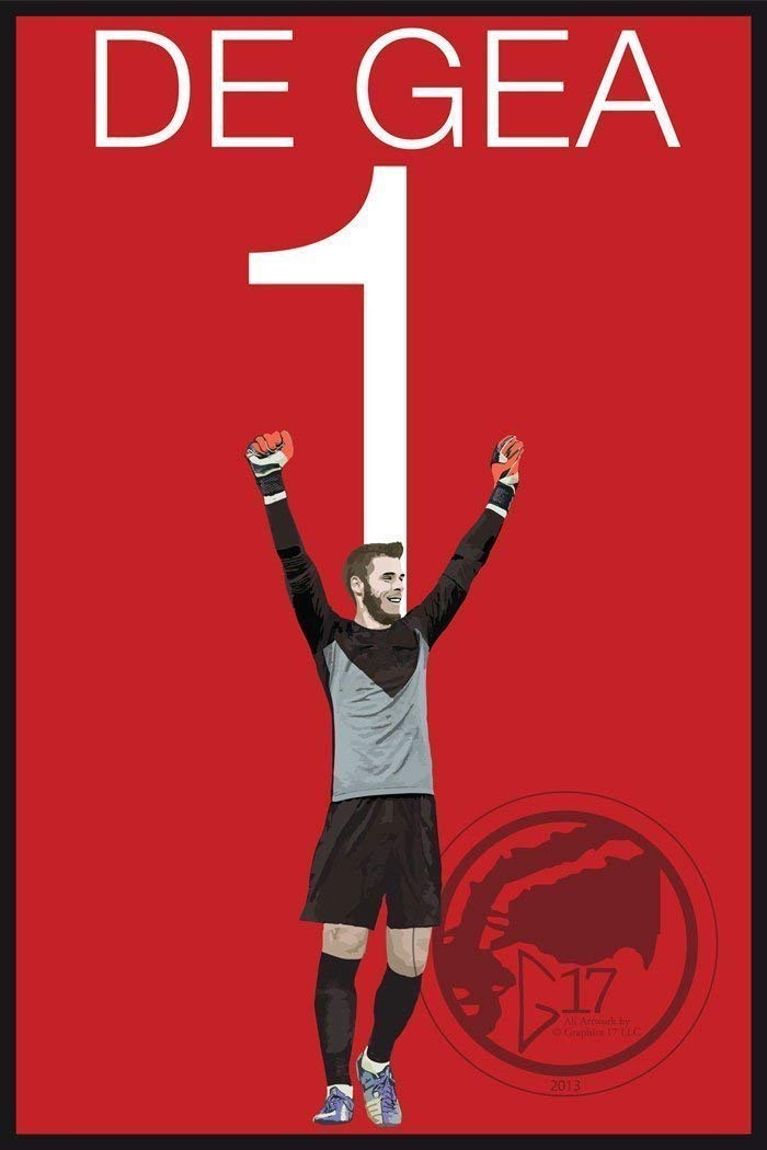 David De Gea Poster - Manchester United Art