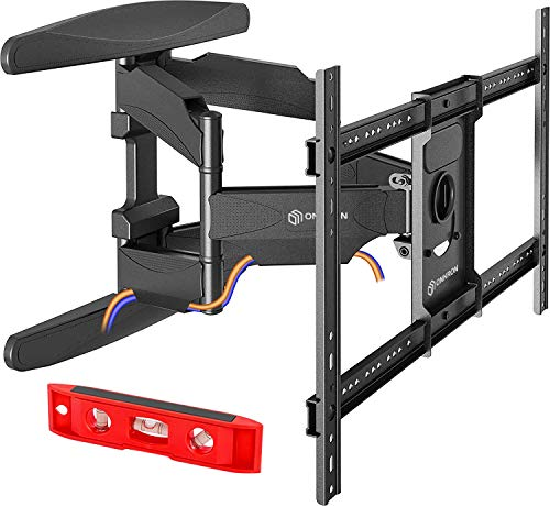 ONKRON TV Wall Mount Articulating Heavy Duty Bracket 42 to 70 Inch LCD LED Flat Screen TVs Black (M6L)
