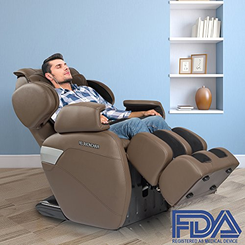 RELAXONCHAIR MK-II Plus [Redesigned] Full Massage Chair with Built Heating...