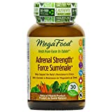 MegaFood - Adrenal Strength, Helps Support the Body's Resistance to Stress, 30 Count