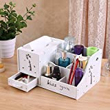 Best Napkin Holder For Table Premiums - Ufine Makeup Organizer Large Capacity Cosmetic Storage Shelf Review