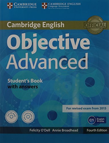 OBJECTIVE ADVANCED STUDENTS BOOK WITH ANSWERS WITH CD-ROM WITH ...