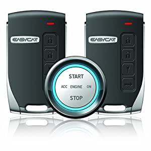 EP400 Smartkey Push Button Start Car Alarm System with 2 Key Fobs