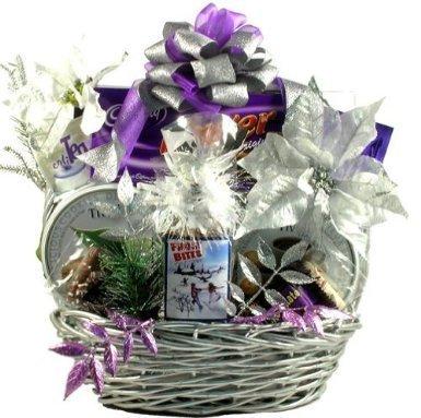 Gift Basket Village RaDaDe-Lg Large Razzle, Dazzle, Delights! Holiday Gift Basket