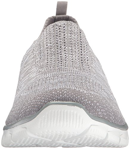 Inside Sneakers Grau Look Skechers schwarz Damen weiß Empire ZpTqU4PwE