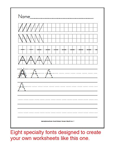 Workbook free phonics worksheets : Amazon.com : Dyslexia and Dysgraphia Worksheets for Teachers USB ...
