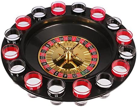 Out of the blue Juego Chupitos Ruleta Drinking Roulette Set: Amazon.es: Hogar