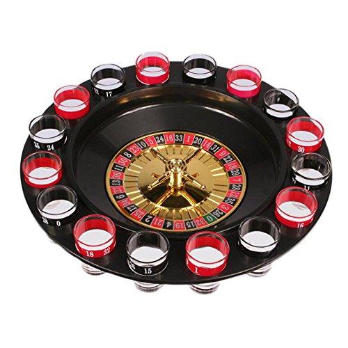 Drinking Roulette Set Juego Chupitos Ruleta GA00124
