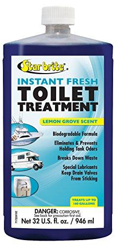 Star Brite Toilet (Star brite Instant Fresh Toilet Treatment Lemon Scented 32 oz)