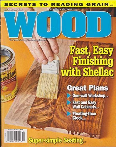 Better Homes Gardens Wood Magazine - Better Homes & Gardens Wood Magazine Issue 260 May 2019