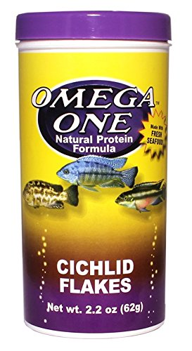 Pictures of Omega One Cichlid Flakes 2.2oz. 01431 1
