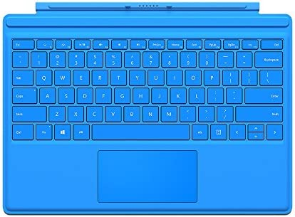 Microsoft Surface Pro 4 Type Cover Bright Blue (English) QC7-00002