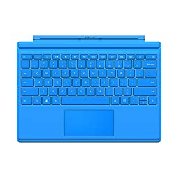 Microsoft Type Cover for Surface Pro 4 - Bright Blue (QC7-00002)
