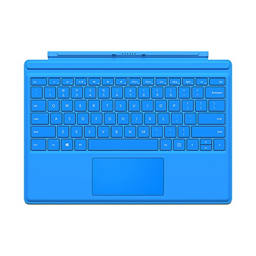 Microsoft Type Cover for Surface Pro  - Bright Blue by Microsoft