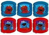 Evriholder Holographic 3D Sesame Street Sandwich Sav'r Container 6-Pack (Elmo & Cookie Monster)
