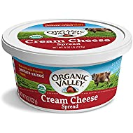 Organic Valley, Organic Cream Cheese Spread, 8 Ounces