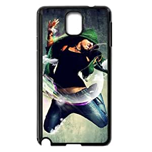 feel the music Samsung Galaxy Note 3 Cell Phone Case Black 91INA91177360