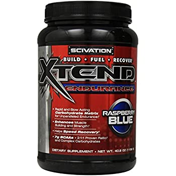 Scivation Xtend Endurance Supplement, Blue Raspberry, 40.8 Ounce