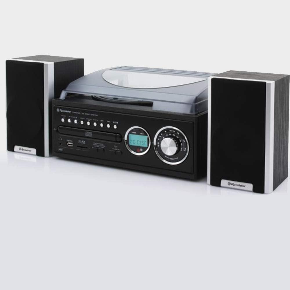 ROADSTAR HIF-8888 Wooden Micro SYS with Mini TT-MP: Amazon.es ...