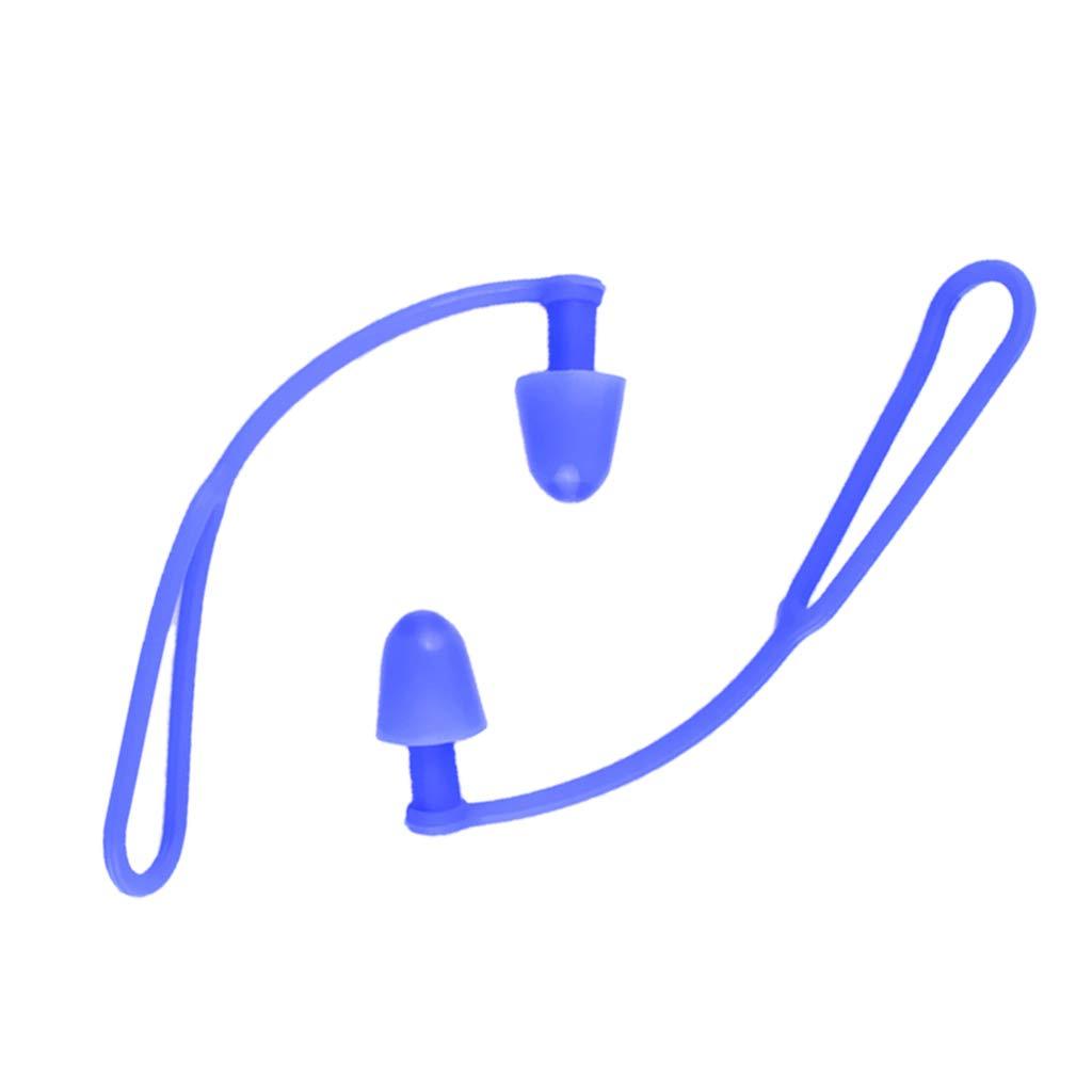 MagiDeal Silikon Swim Ear Plug Ohrenst/öpsel zum Schwimmen Geh/örschutzst/öpsel Anti Lost mit Schnur