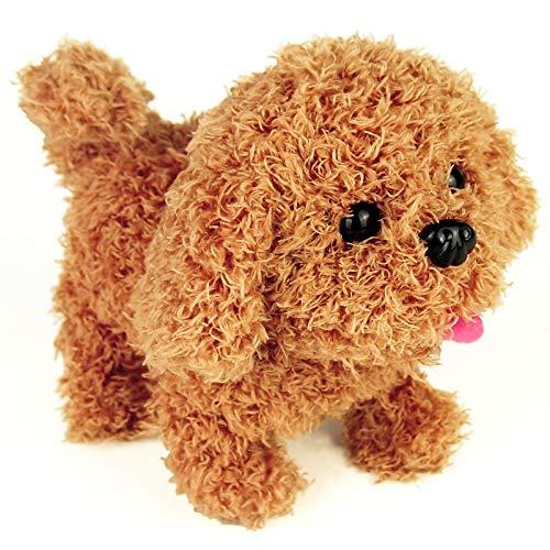 jerryvon Spielzeug Hund Kinder Interaktiv Elektronisch Haustier Spielzeughund mit Bellen, Gehen, Schwanzwedeln…
